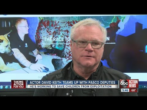 Actor David Keith changes roles to protect children, visits Pasco County