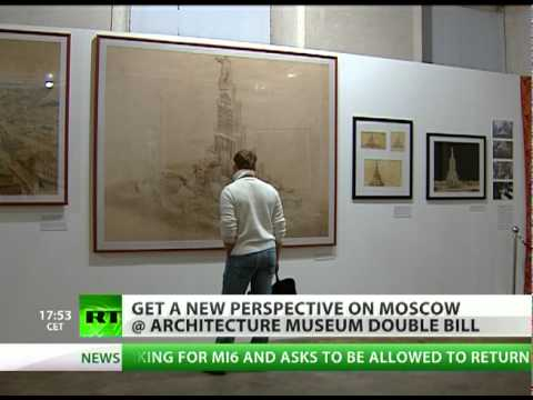 Architecture museum shows Moscow that never existed