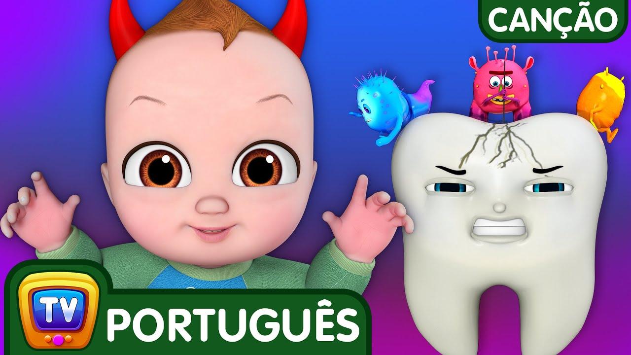 Não Não Escove Meus Dentes (No No Brush My Teeth) | Canções Para Crianças | ChuChu TV