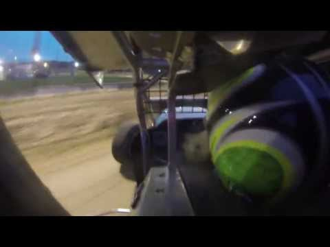 URC Sprint Car- Steven Downs Delaware International Speedway 7-20-2013