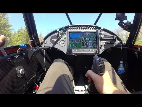 Wildfire Smoke forced STOL Flight Training location change - CarbonCub FX3 - part 2