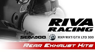 RIVA Sea-Doo 300 Rear Exhaust Kits
