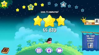 Angry Birds Stella - Superpower Pink Flash Unlocked - Levels 7-11