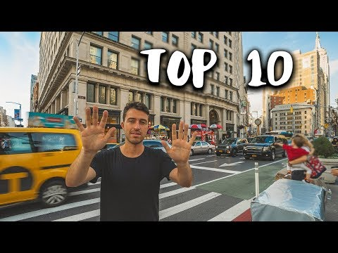 TOP 10 NYC THINGS TO DO