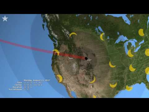 Total solar eclipse to pass through continental United States