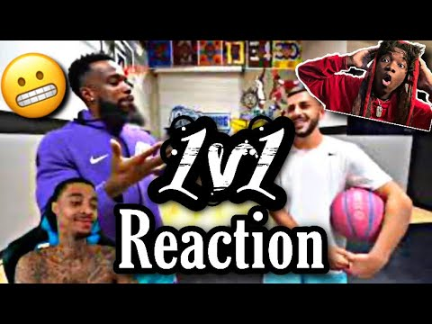 Reaction To FlightReacts Cash vs Brawadis 1v1 Rivalry Basketball Game!