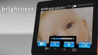 Chicco Top Video Digital Baby Monitor - Demonstration Video   Babysecurity