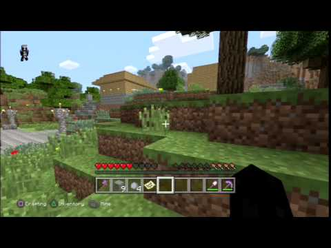 how to make a flower pot in minecraft ps4