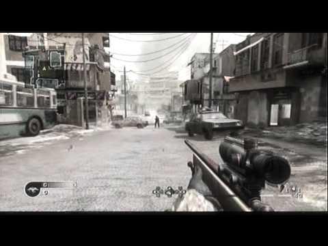 "Call Of Duty 4 Noscope Tutorial ""HD"""