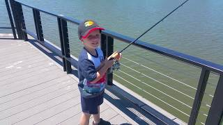 Learning to go fishing