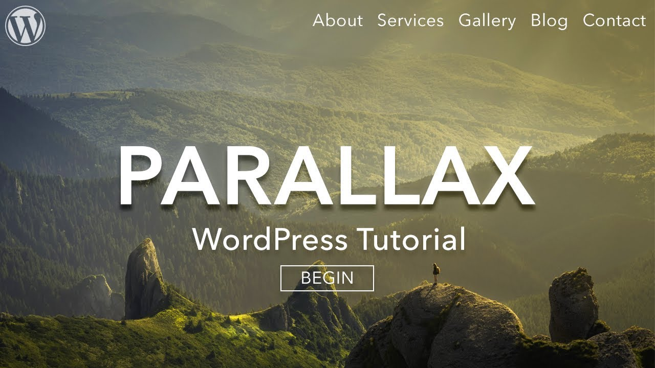 How to Make a Parallax WordPress Website 2017 - AMAZING! - YouTube