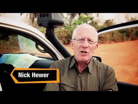 Nick Hewer visits rural schools in Sierra Leone with Street Child Charity