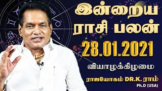 Raasi Palan 28-01-2021 Rajayogam Tv Tamil Horoscope