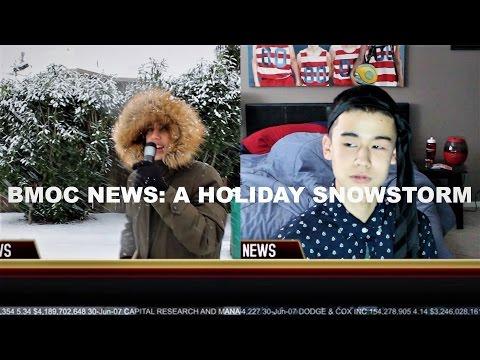 Holiday Snowstorm Hits Duvall, WA