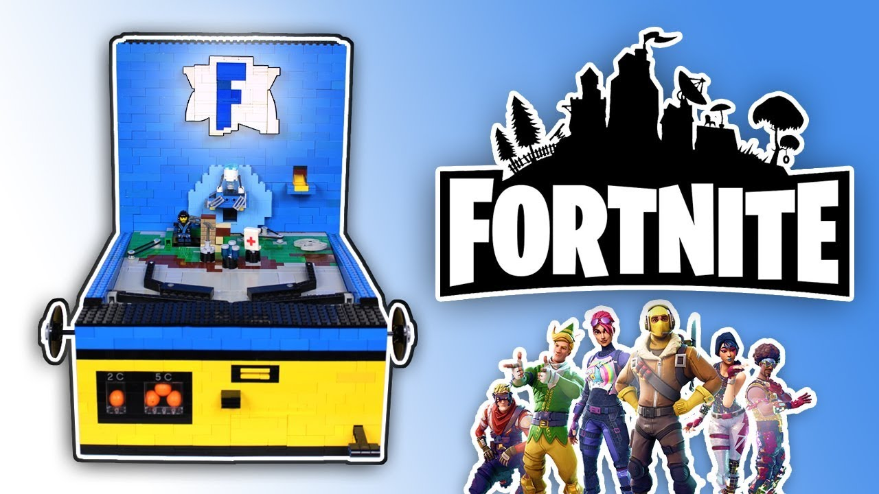 ultimate lego fortnite pinball machine - lego ideas fortnite
