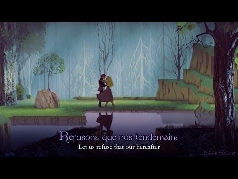 Jen ai Rêvé  Once Upon a Dream French lyrics + trans