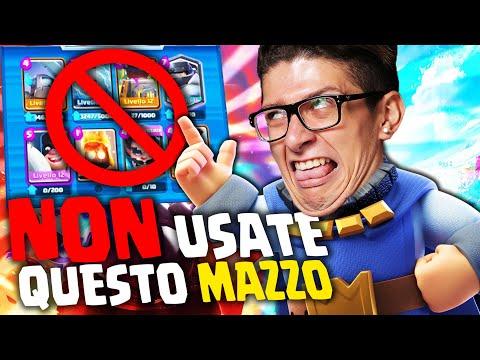 NON USATE MAI QUESTO MAZZO SU CLASH ROYALE !!