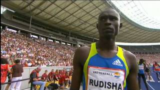 ISTAF Berlin 2010 M-800m David Rudisha World Record 1:41.09!
