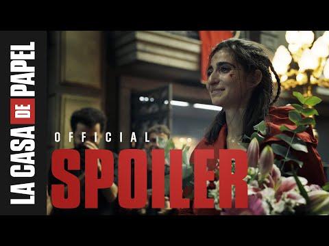 La Casa de Papel | Último día de Alba Flores en el set | Netflix