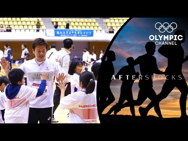 Pro-baller Yokoyama returns home to give back! ⚾️ | Aftershocks