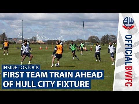 INSIDE LOSTOCK | Bolton Wanderers first team training session