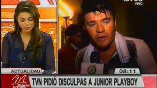 TVN se disculpa con Junior Playboy por prueba en programa Juga2