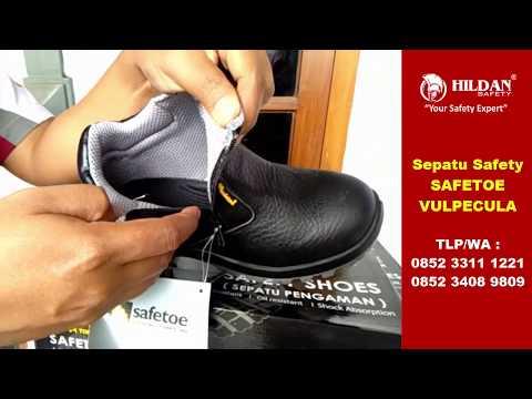 Jual Sepatu Safety Boots SAFETOE VULPECULA Terlaris di Indonesia