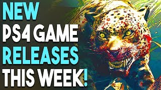 5 NEW PS4 Game Releases THIS WEEK! NO Assassin