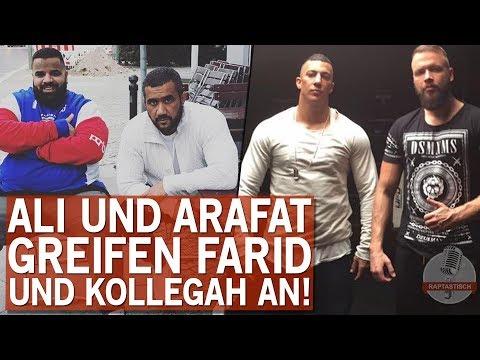 Ali und Arafat greifen Farid Bang und Kollegah an