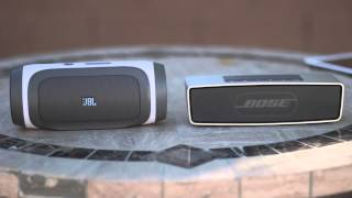 Bose Soundlink mini VS  JBL Charge Sound Test