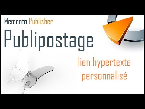 Créer un lien hypertexte dynamique dans Publisher - Formation Publisher Marseille