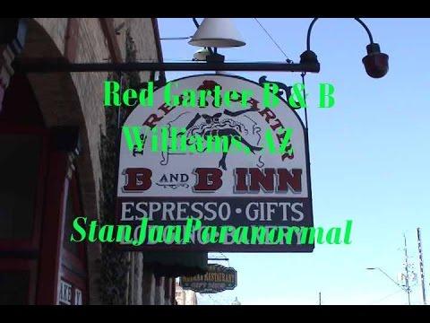 RED GARTER B & B, WILLIAMS, AZ HAUNTED