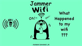 Kick Other Devices Wifi off! Wifi Jammer running on Android Oneplus X Kali Nethunter