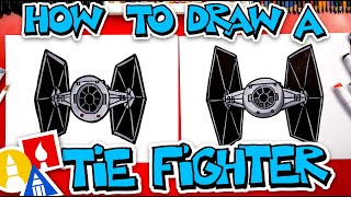 How To Draw Tie Fighter From Star Wars