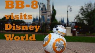 BB-8 visits Walt Disney World Magic Kingdom