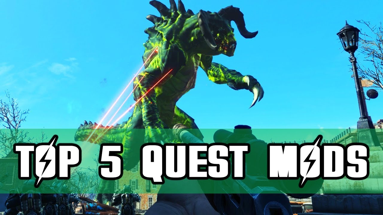 Top 5 Quest Mods for Fallout 4 on PS4
