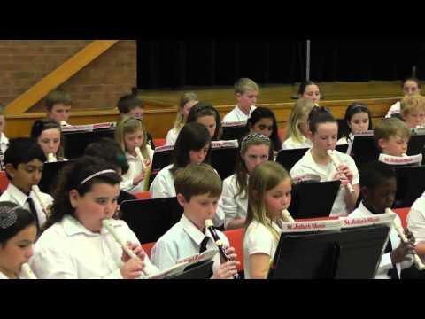 Recorder Ensemble - Port Elgin Saugeen Central School 2013