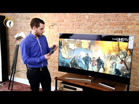 samsung 55 ks9090 uhd hdr tv mit quantum dot im testvideo doovi. Black Bedroom Furniture Sets. Home Design Ideas