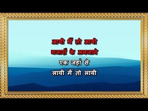 Paree Hoon Main - Karaoke - Suneeta Rao