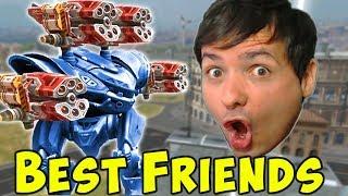 Manni & Vortex Spectre = Best Friends - War Robots Live Gameplay WR