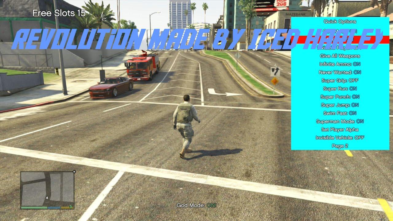 Xbox 360 Gta 5 1 26 Mod Menu Online Offline Download