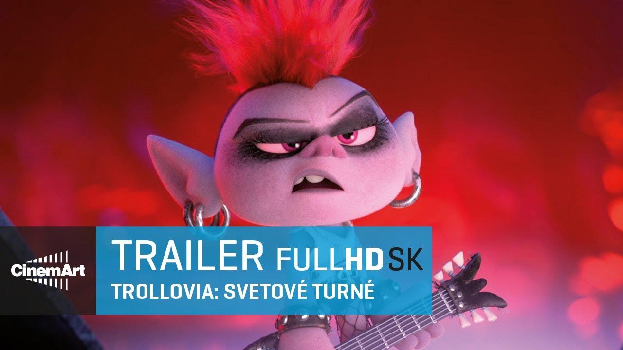 Trollovia Svetové turné (2020) oficiálny HD trialer [SK dab]