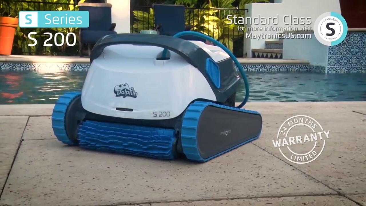 Fantastique Robot piscine électrique Dolphin S200 - Démonstration CN-98