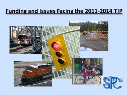 Development of the 2011-2014 Transportation Improvement Program (TIP) for Sothwestern Pennsylvania