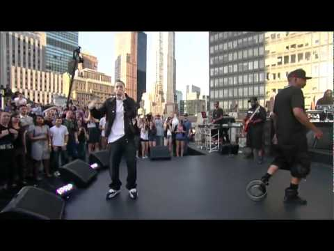 Eminem ft Jay Z  Renegade  on Letterman HD 1080p