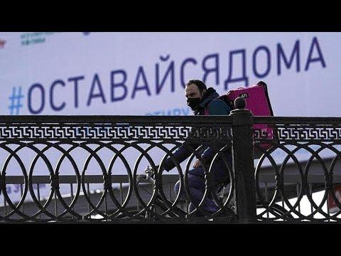Россияне на самоизоляции стали вдвое чаще оставлять чаевые курьерам | пародия «Ты неси меня река»