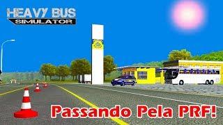 Heavy Bus Simulator - Passando Pela Polícia Rodoviária Federal! 🚔 (2 Parte).