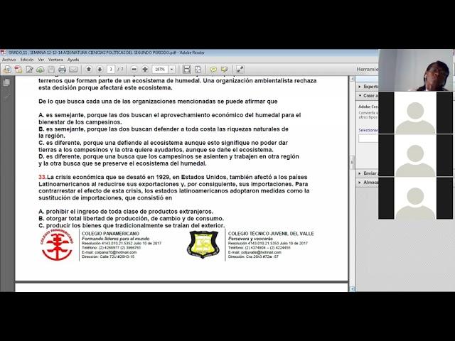 31-05-2021-GRADO:11-SEMANA-16-ACTIVIDAD PRUEBAS SABER CIENCIAS POLITICAS