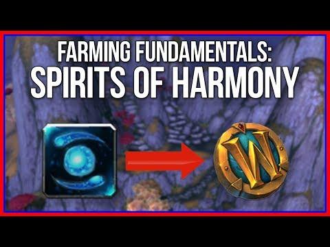 How to Farm Spirit of Harmony in BFA
