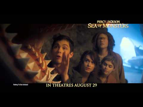 Percy Jackson: Sea Of Monsters -- Clip